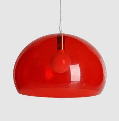 Lighting: Red Chandeliers & Pendants: Remodelista