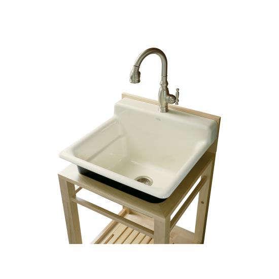 Kohler Bayview Wood Sink Stand Remodelista