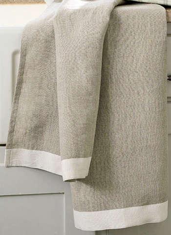 linen tea towels remodelista. Black Bedroom Furniture Sets. Home Design Ideas