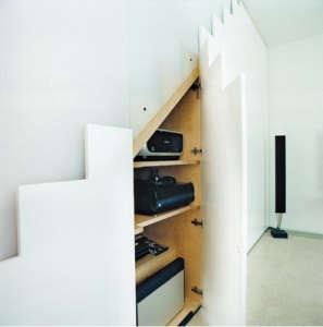 Under Stair Storage London Mews