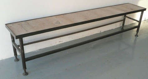 long-low-industrial-table