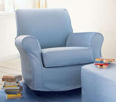 pottery barn glider recliner 1