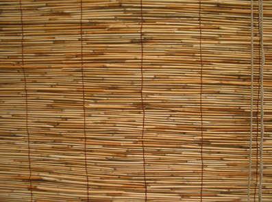 Reed Designer Bamboo Roll Up Blinds