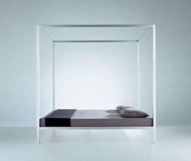 mdf-italia-aluminum-bed