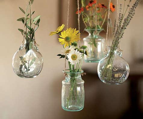 Bolla Glass Hanging Vases Remodelista