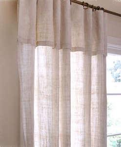 Natural Hemp Curtain