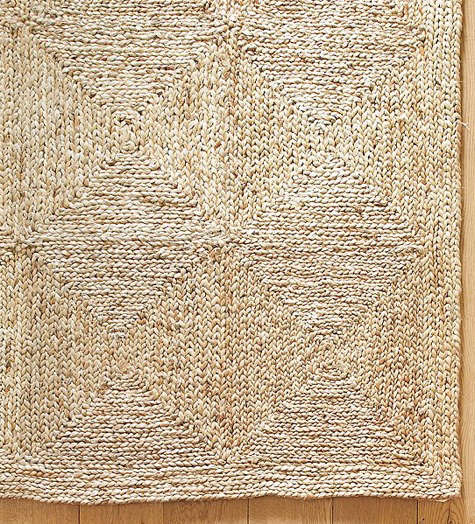 Walls, Windows & Floors: Patchwork Jute Rug At Pottery