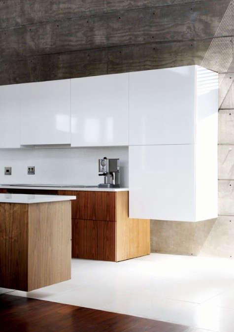 Architectural Element Board Formed Concrete Walls