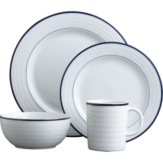 Buy Home u0026 Garden online and read professional reviews on Cote table dinnerware Dinnerware u0026 Serveware. Roulette Blue Band 20-Piece Dinnerware Set.  sc 1 st  Free online keno games no download & Roulette blue band dinnerware : Old town casino hack