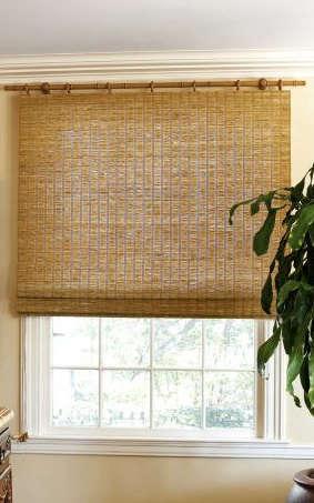 Natural Woven Flat Fold Shades Remodelista