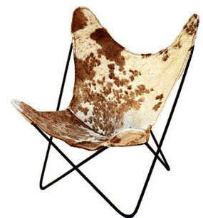 spotted-cowhide-butterfly-chair