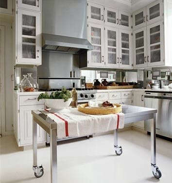 stainless-kitchen-table