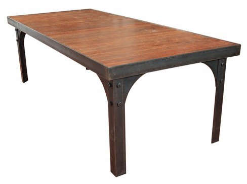 steel-table-with-fir-top