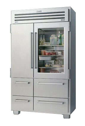 Sub Zero Pro 48 Inch Glass Front Refrigerator Remodelista
