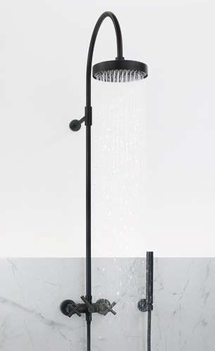 10 Easy Pieces Exposed Wall Mounted Showers Remodelista