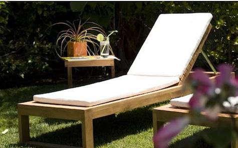 ... Teak Outdoor Furniture Los Angeles : Maku Furniture Teak Chaise Lounge  Cushions Remodelista ... Part 91