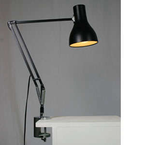 anglepoise clamp on desk lamp remodelista. Black Bedroom Furniture Sets. Home Design Ideas