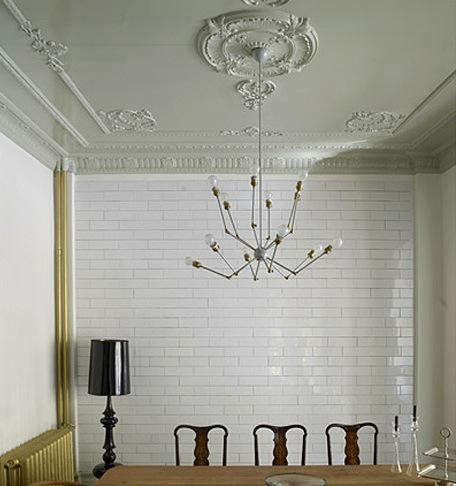 Tiled-dining-room-wall