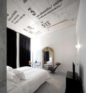 Casa do conto, concrete art, Porto, Oporto hotel, art hotel Portugal