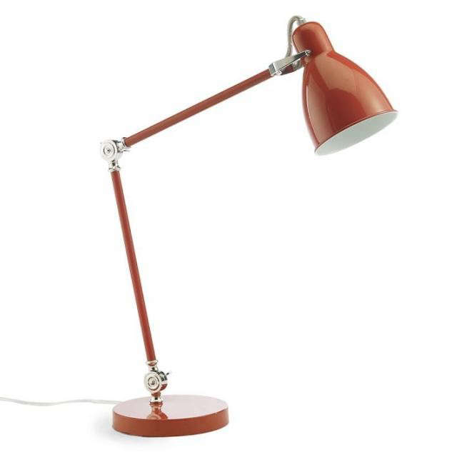 High Low Red Task Light Remodelista
