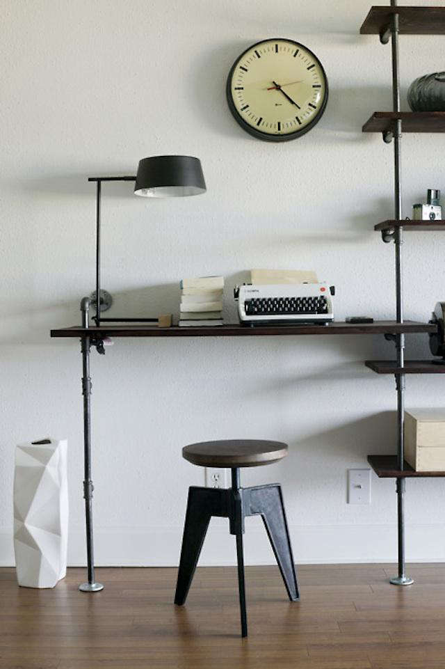 Build Your Own Industrial Mod Desk Remodelista