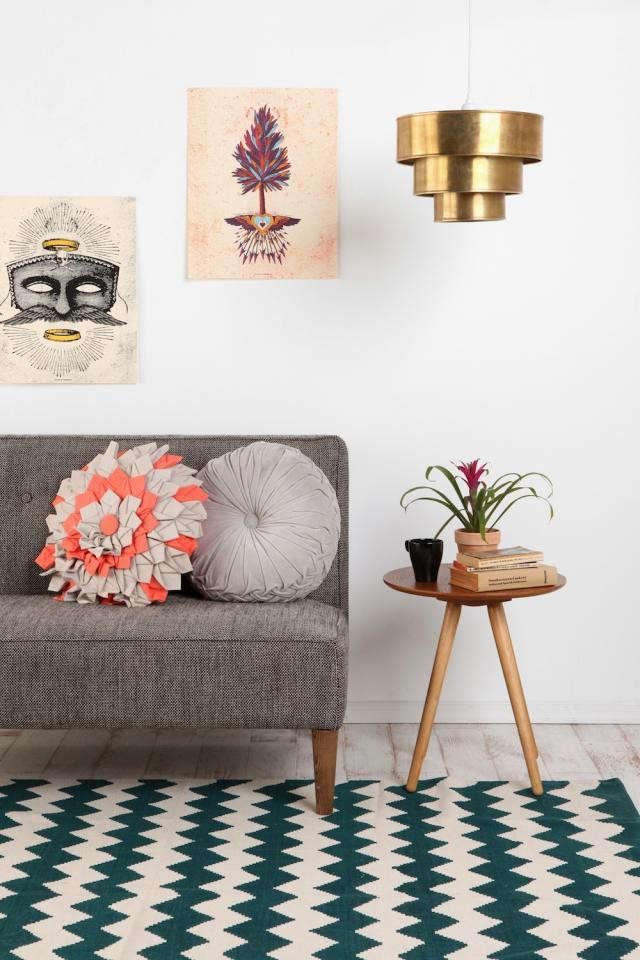 Tiered Brass Pendant At Urban Outfitters Remodelista