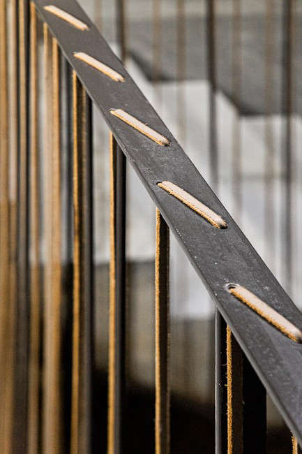 architectural-detail-leather-ties-staircase