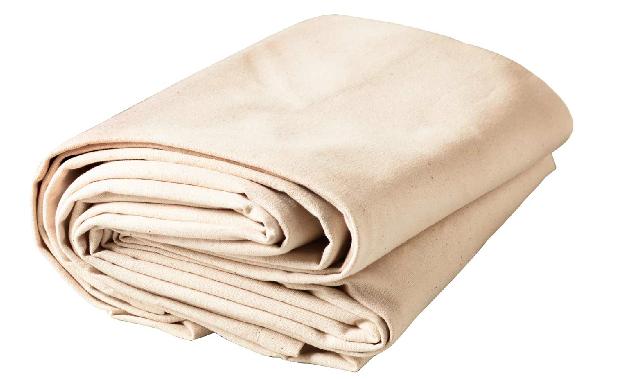 5 Quick Fixes Canvas Drop Cloths As Instant Decor