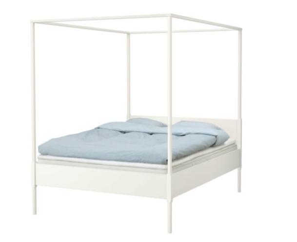 ikea-white-bedframe