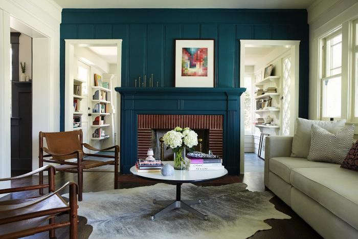 Wood Paneling Makeover Living Rooms Color Schemes
