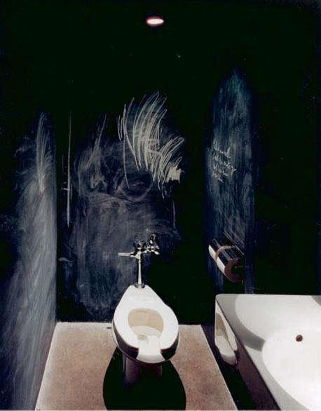 Palette Paints Chalkboard Paint Bath Remodelista