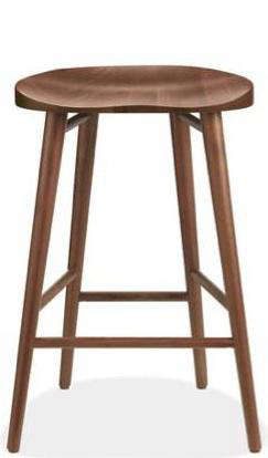 room board walnut stool 2