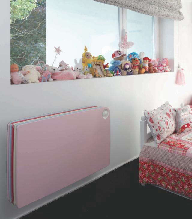 Colorful Kids Rooms: Colorful Radiator For Kids' Rooms: Remodelista