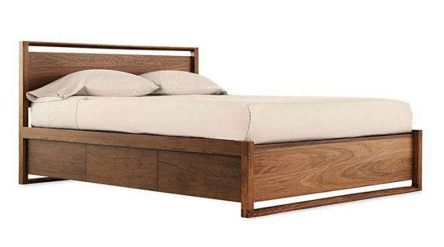 Solid Wood Platform Bed Texas