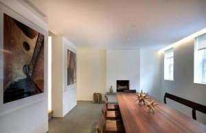 Messana O'Rorke, West village townhouse, white modern townhouse, townhouse remodel