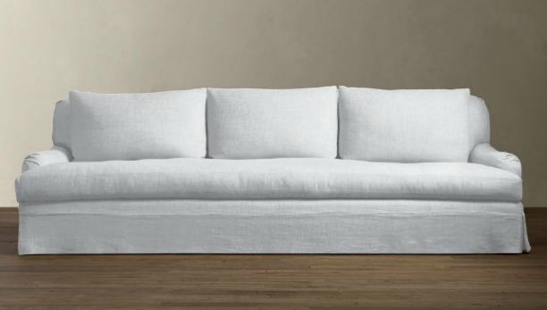 10 Easy Pieces: Linen-Slipcovered Sofas: Remodelista