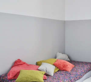 French children's room with pillows from Merci in Paris