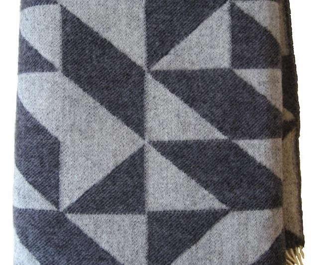 scandi blanket triangles