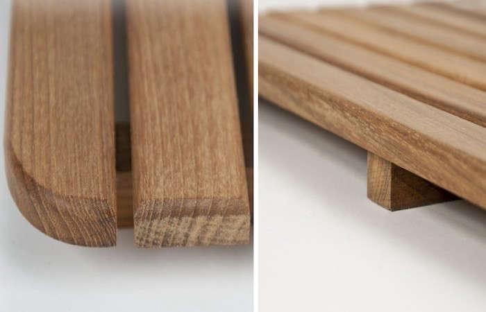 10 easy pieces wooden bath mats remodelista. Black Bedroom Furniture Sets. Home Design Ideas