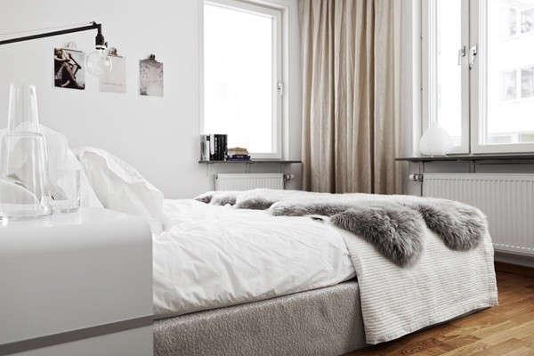 gray-fur-throw-bedroom-sweden