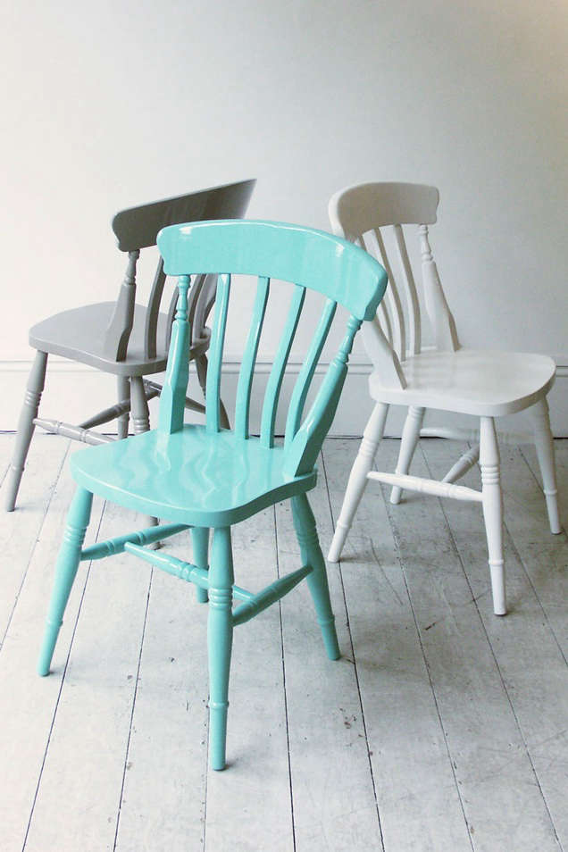HighLow Painted Windsor Chairs Remodelista