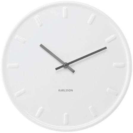 white-ceramic-clock