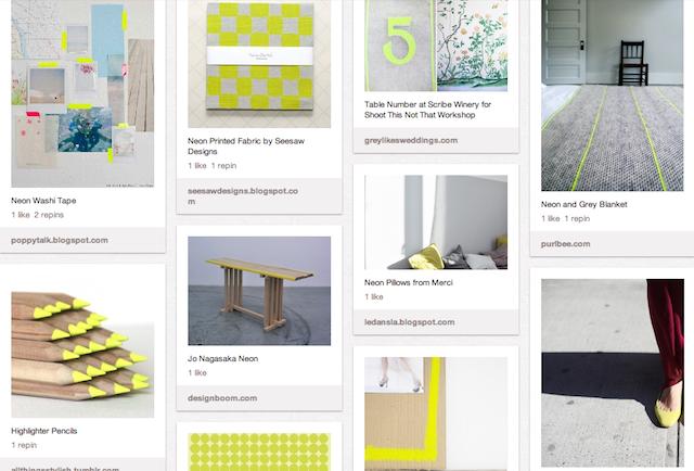 1neon-yellow-pinboard