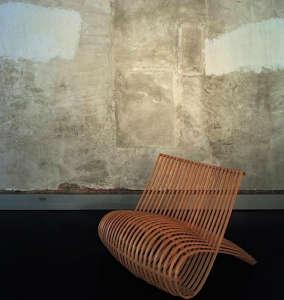 Marc Newson's Wooden Chair