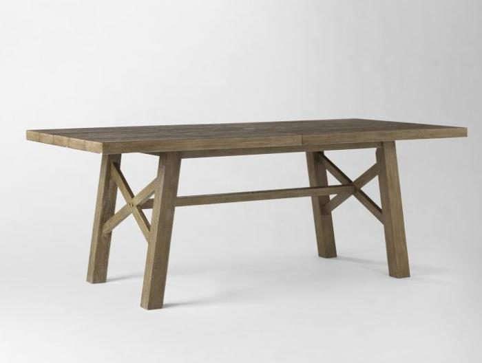 jardine outdoor dining set from west elm remodelista. Black Bedroom Furniture Sets. Home Design Ideas