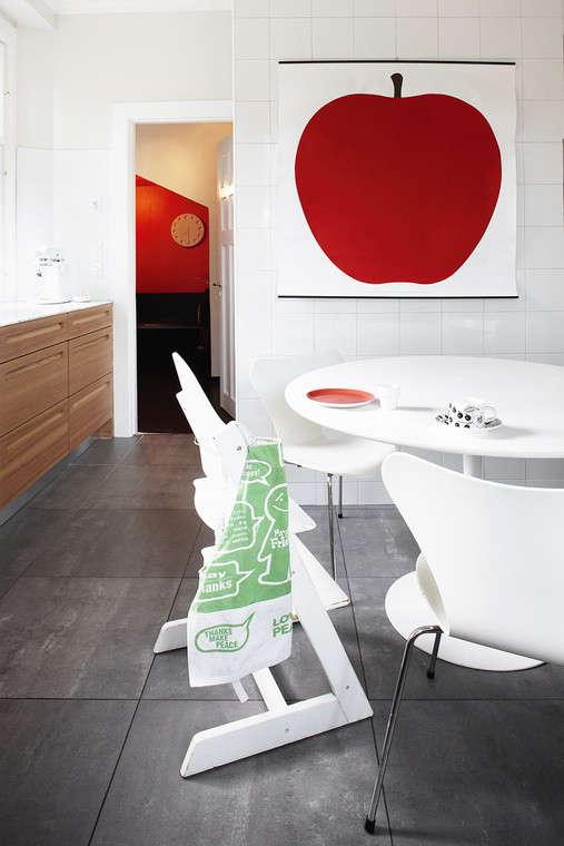design sleuth enzo mari la mela poster remodelista. Black Bedroom Furniture Sets. Home Design Ideas