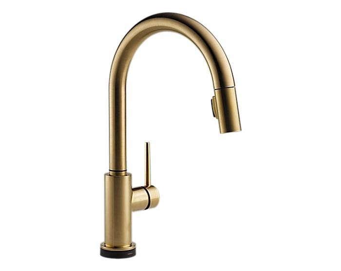 700_delta-gold-tone-touch-kitchen-faucet