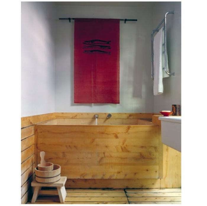 Steal This Look Japanese Inspired Bathroom Soaking Tub