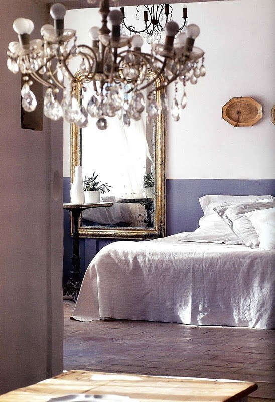 color block bedroom french