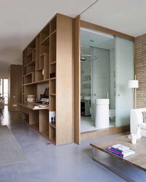 10 favorites full height sliding doors and partitions for Full wall sliding glass doors